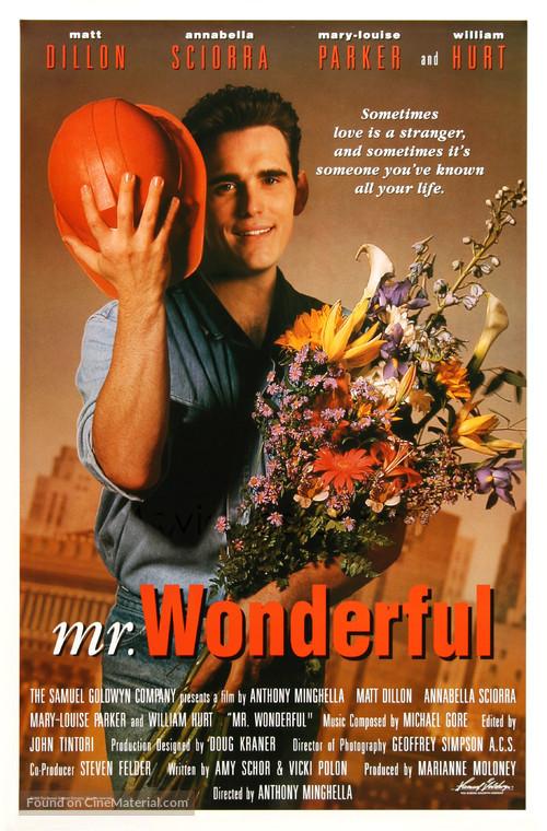 Mr. Wonderful - Movie Poster
