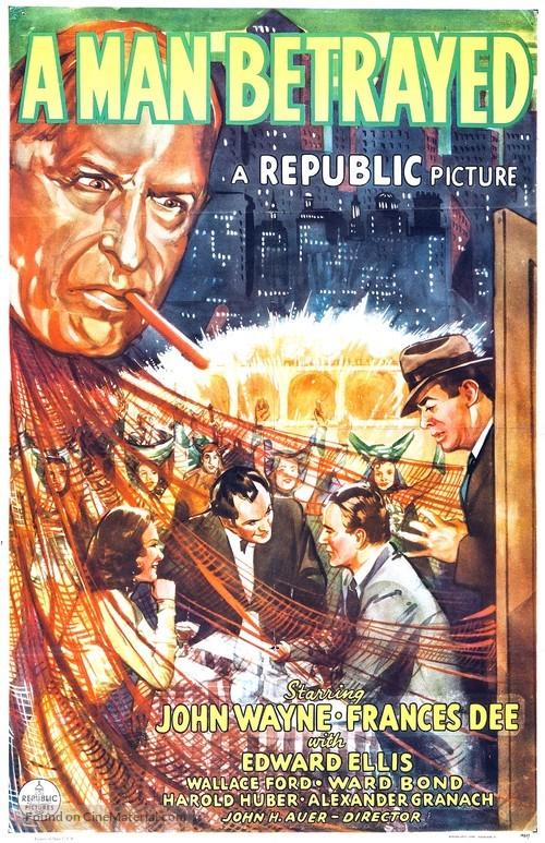 A Man Betrayed - Movie Poster