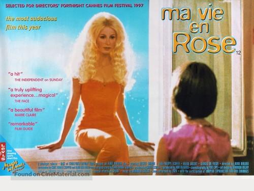 Ma vie en rose - British Movie Poster