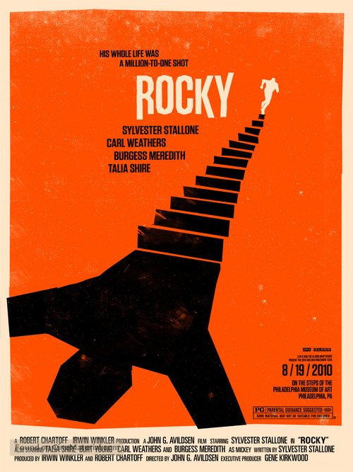 Rocky - Homage movie poster