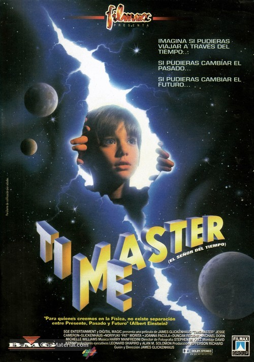 Timemaster - Spanish Movie Poster