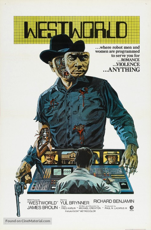 Westworld - Movie Poster