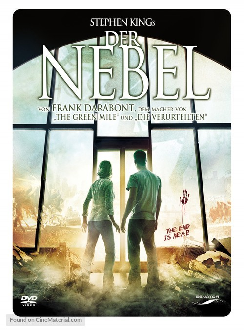The Mist - German Movie Cover