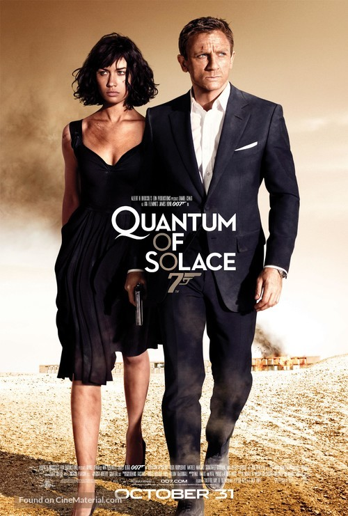 Quantum of Solace - Movie Poster