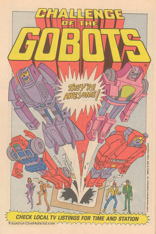 """""""Challenge of the GoBots"""" - Movie Poster"""