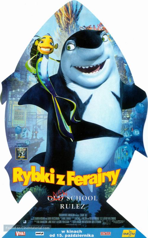 Shark Tale 2004 Polish Movie Poster