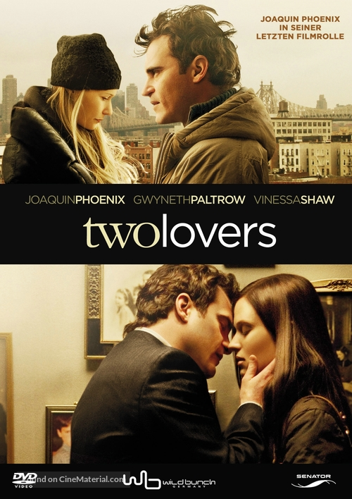 Two Lovers - German Movie Cover