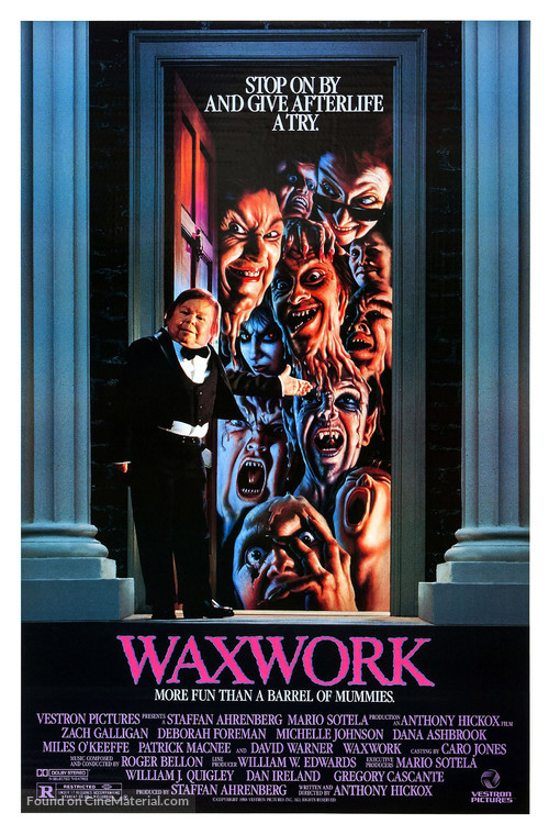 Waxwork - Movie Poster