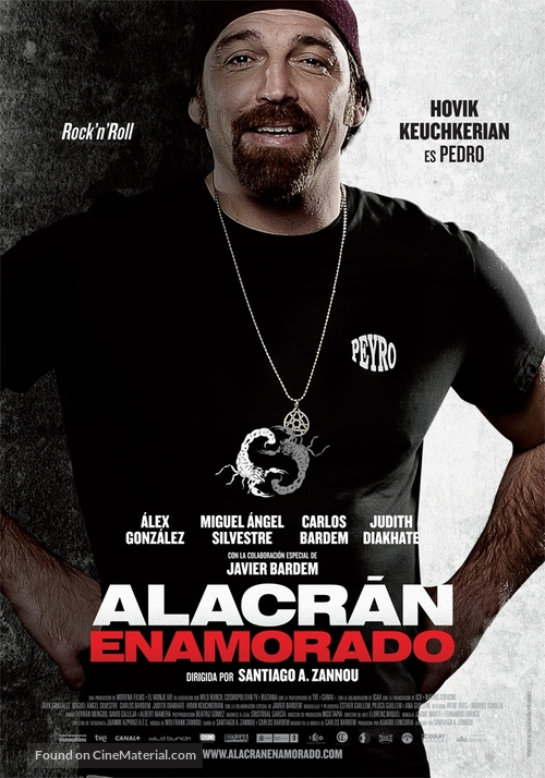 Alacrán enamorado - Spanish Movie Poster