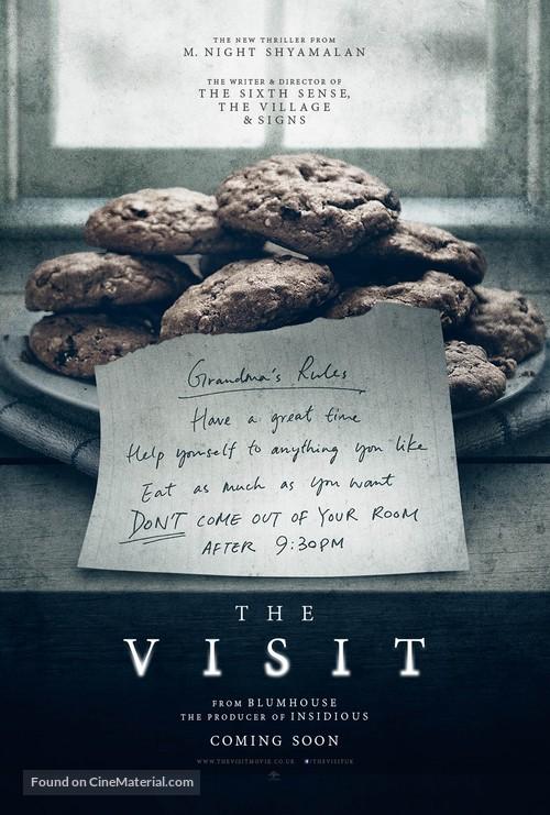 The Visit - British Movie Poster