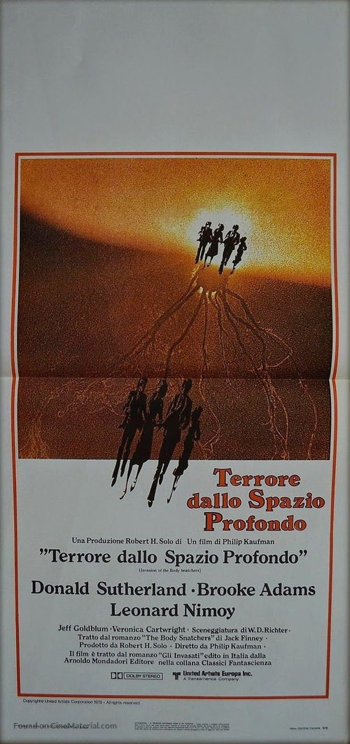 Invasion of the Body Snatchers - Italian Movie Poster