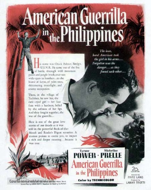 American Guerrilla in the Philippines - poster