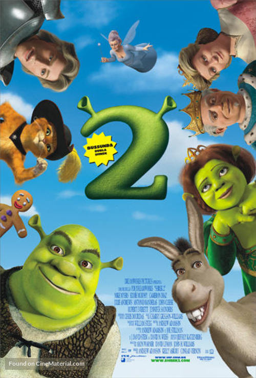Shrek 2 - Brazilian Movie Poster