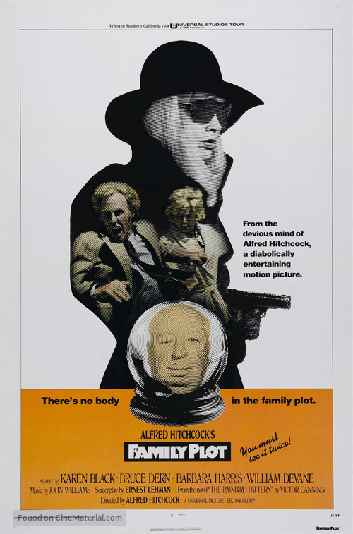 Family Plot - Theatrical movie poster