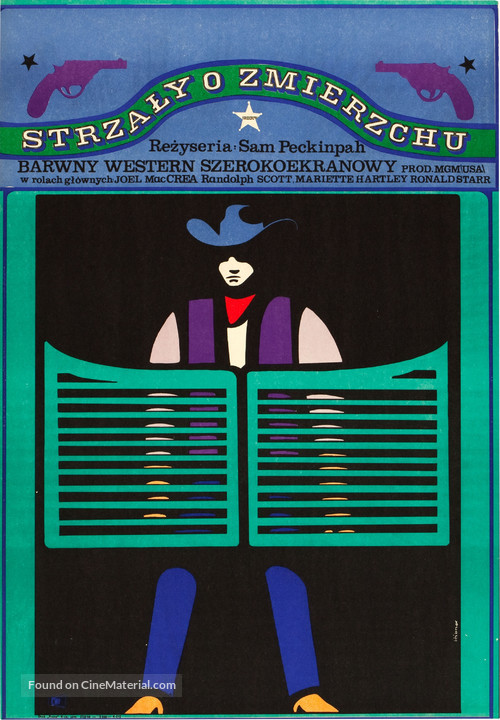 Ride the High Country - Polish Movie Poster