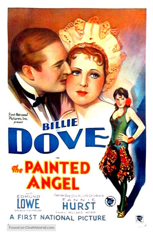 the painted angel movie poster