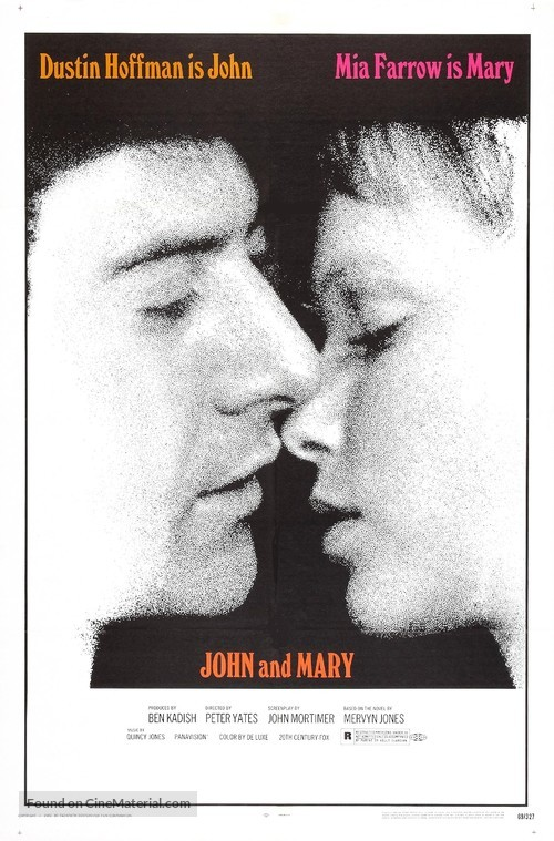 John and Mary - Movie Poster