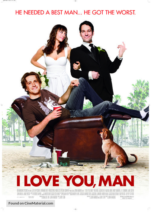 I Love You, Man - Theatrical movie poster