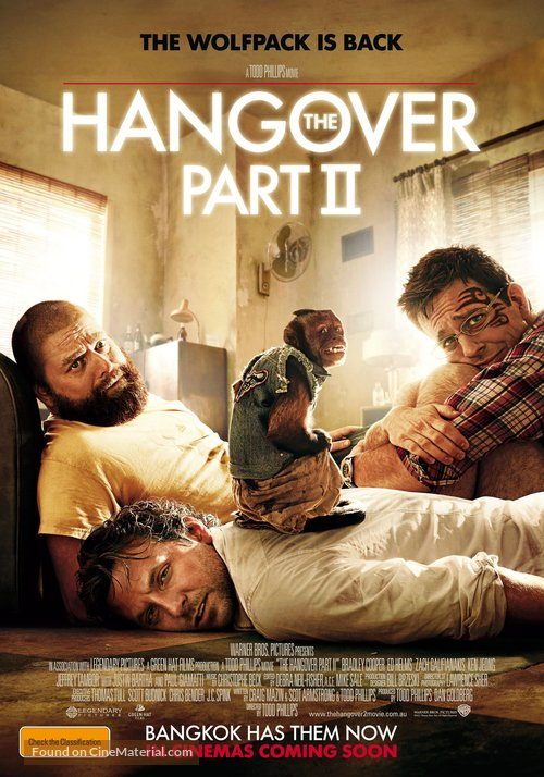 The Hangover Part II - Australian Movie Poster