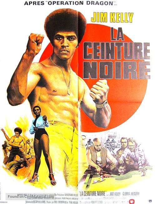 Black Belt Jones - French Movie Poster