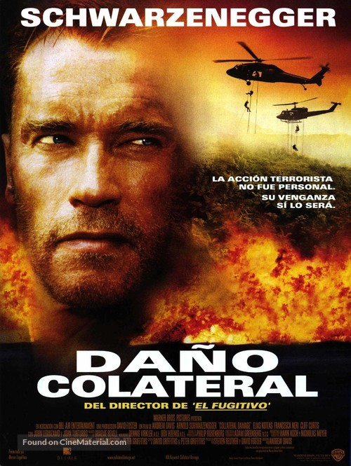 Collateral Damage - Spanish Movie Poster