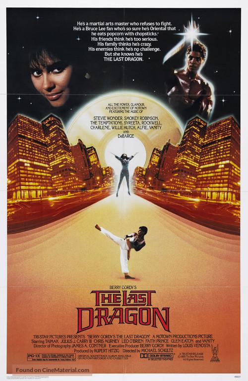 The Last Dragon - Movie Poster