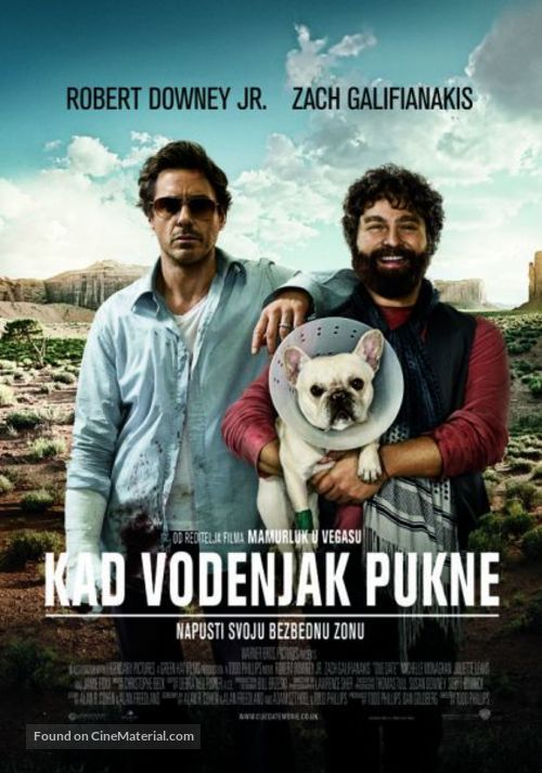 Due Date - Serbian Movie Poster