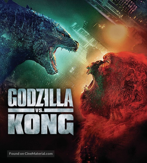 Godzilla vs. Kong - Movie Cover