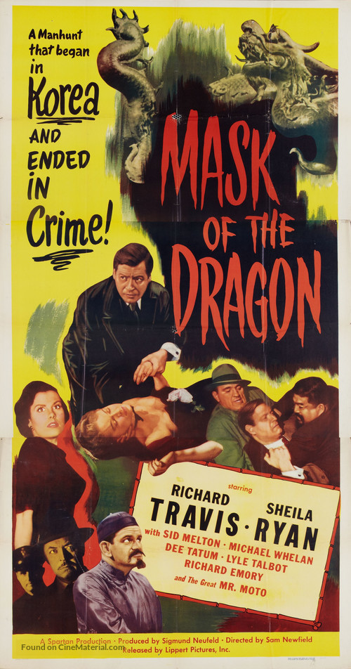 Mask of the Dragon - Movie Poster