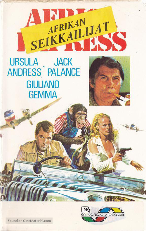 Africa Express - Finnish VHS movie cover