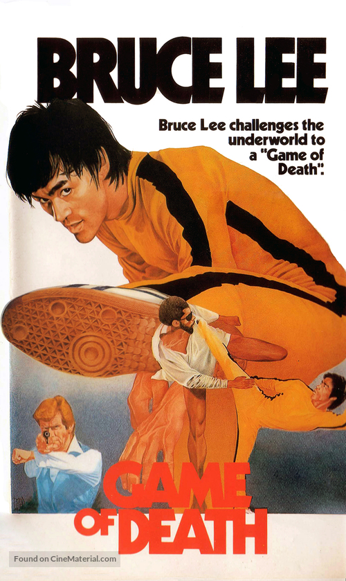Game Of Death - VHS movie cover