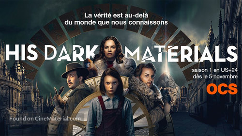 """""""His Dark Materials"""" - French Movie Poster"""