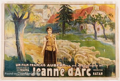 La merveilleuse vie de Jeanne d'Arc - French Movie Poster