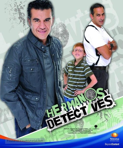 """""""Hermanos y detectives"""" - Mexican Movie Poster"""