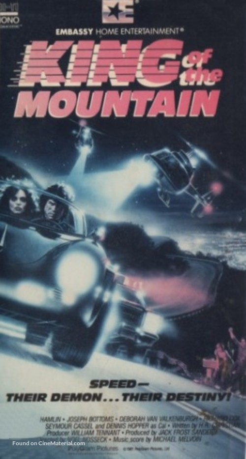 King of the Mountain - Movie Cover