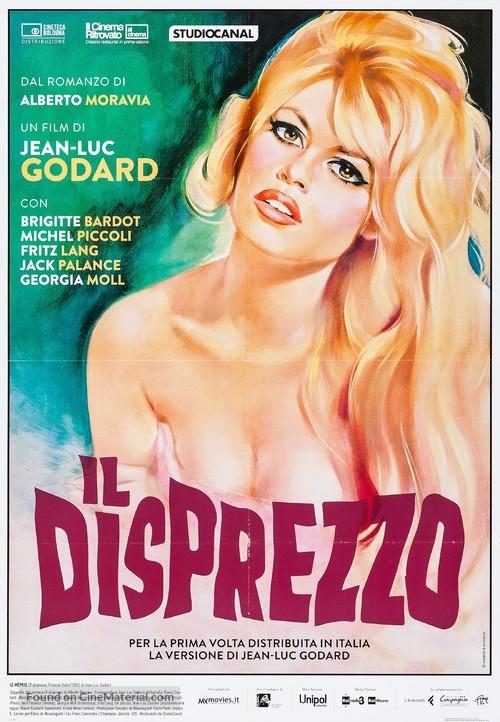 Le mépris - Italian Movie Poster