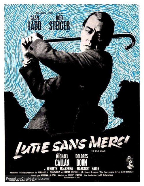 13 West Street - French Movie Poster