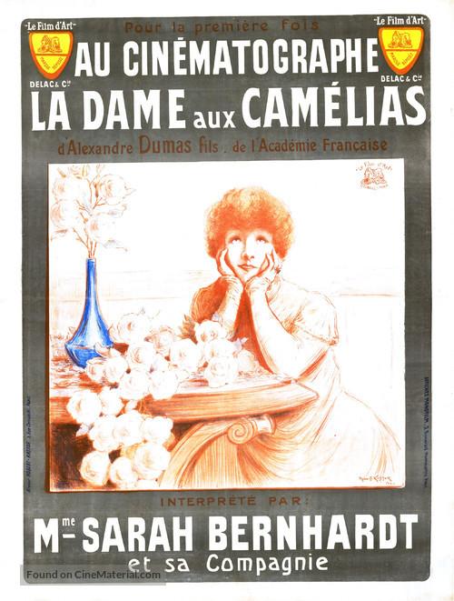 La dame aux camélias - French Movie Poster