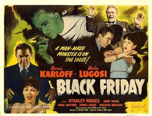 Black Friday - Movie Poster