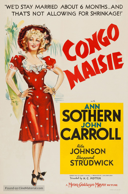 Congo Maisie - Movie Poster
