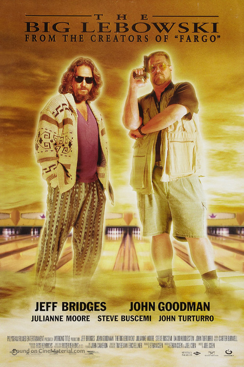 The Big Lebowski movie poster