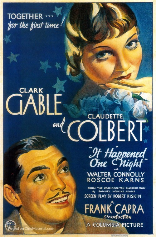 It Happened One Night - Theatrical movie poster