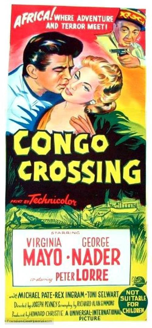 Congo Crossing - Australian Movie Poster