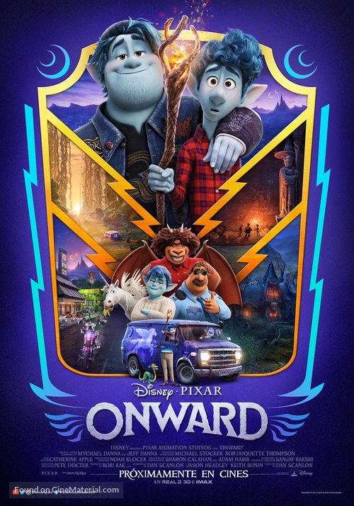 Onward - Spanish Movie Poster