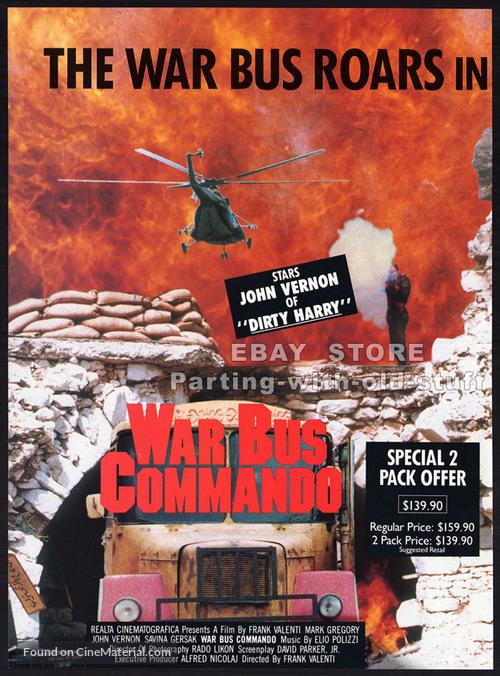Afganistan - The last war bus (L'ultimo bus di guerra) - Australian poster