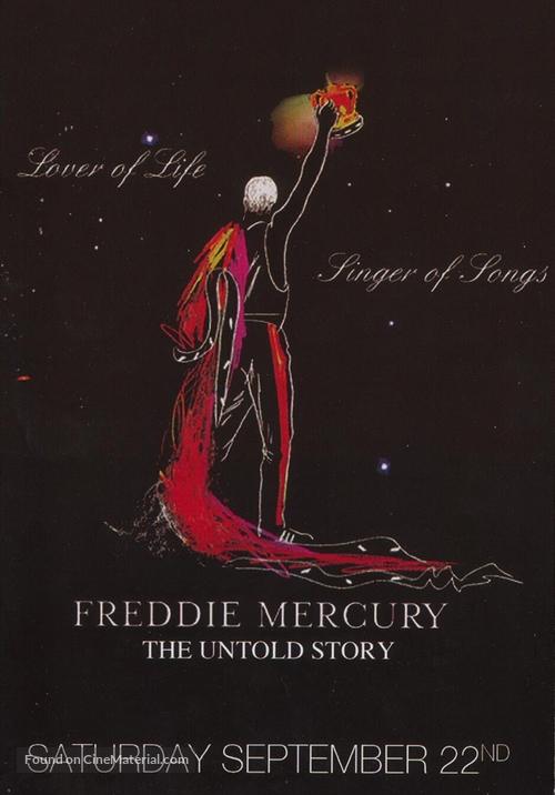 Freddie Mercury, the Untold Story - Movie Poster