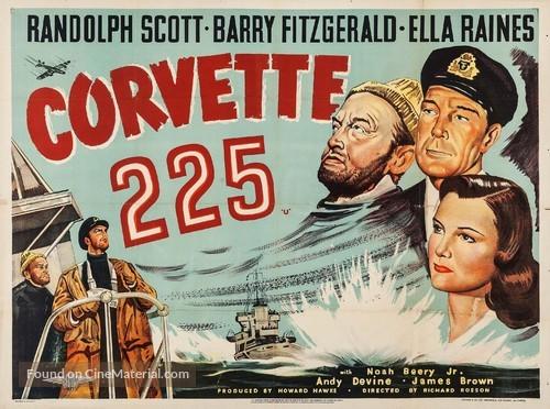 Corvette K-225 - British Movie Poster