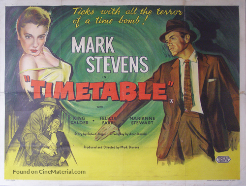 Time Table - British Movie Poster