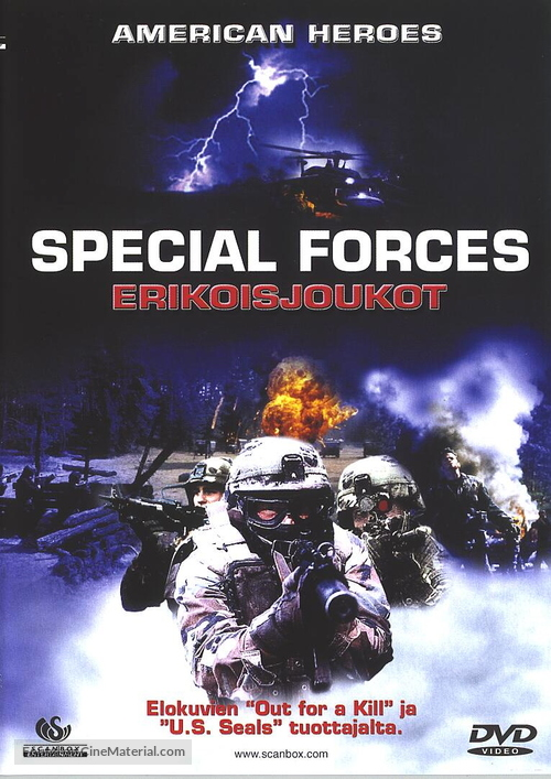 Special Forces - Finnish DVD movie cover