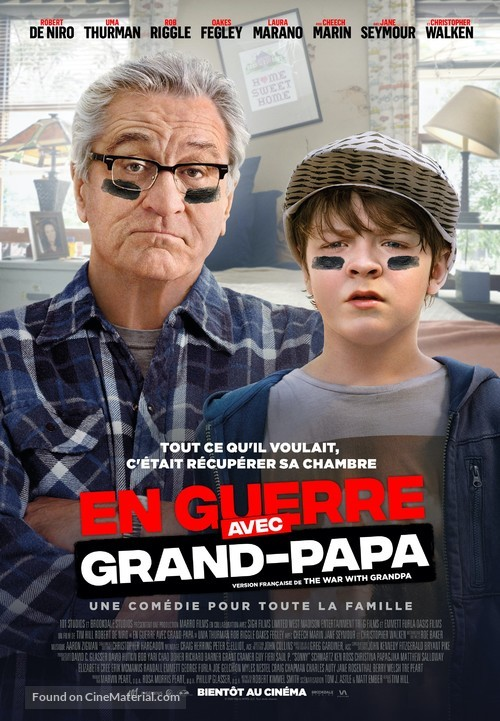 The War with Grandpa - Canadian Movie Poster